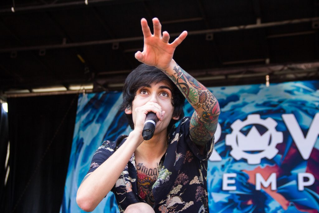 Andy Velasquez of Crown The Empire