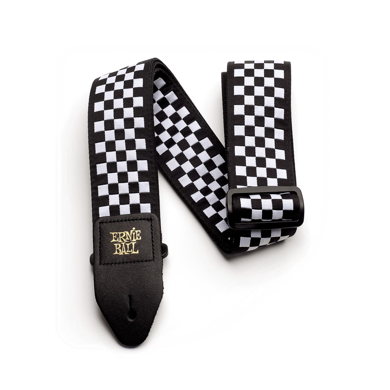 Ernie Ball Checkered Guitar Strap