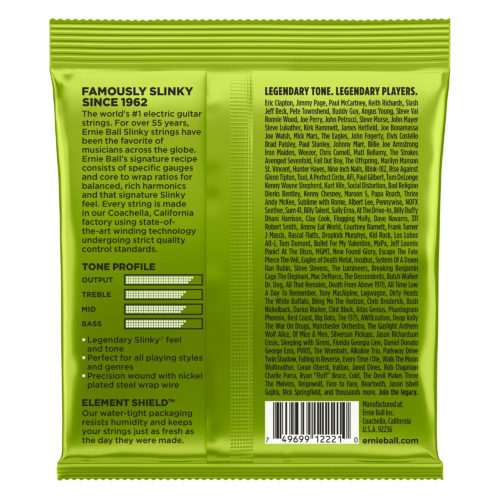 Ernie Ball Regular Slinky (Back of the Pack)