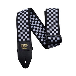 Ernie Ball Checkered Jacquard Guitar Strap