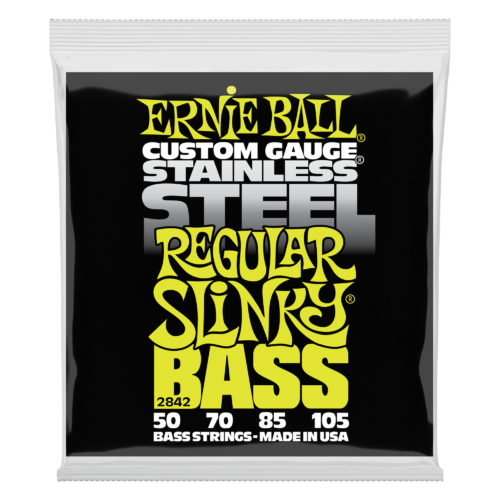 Ernie Ball Stainless Steel Regular Slinky Bass 50 -105