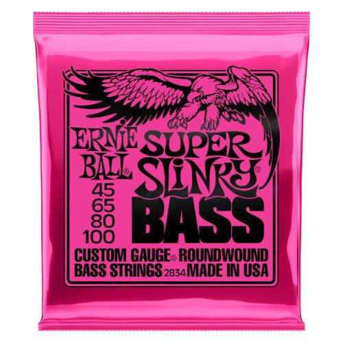 Ernie Ball Super Slinky Bass 45 - 100