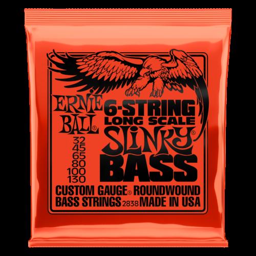 Ernie Ball 6-String Long Scale Bass Strings