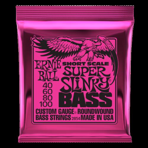 Ernie Ball Short Scale Super Slinky Bass Strings