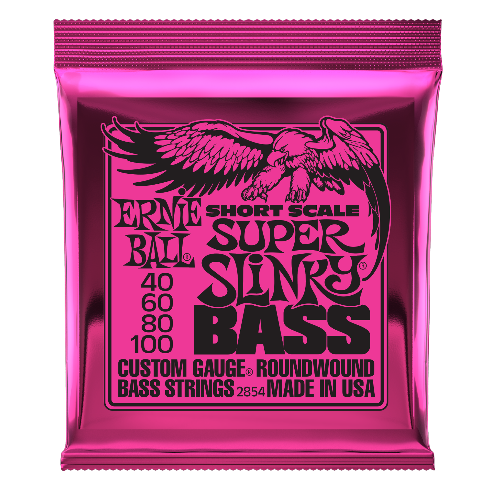 Ernie Ball Short Scale Super Slinky Bass Strings