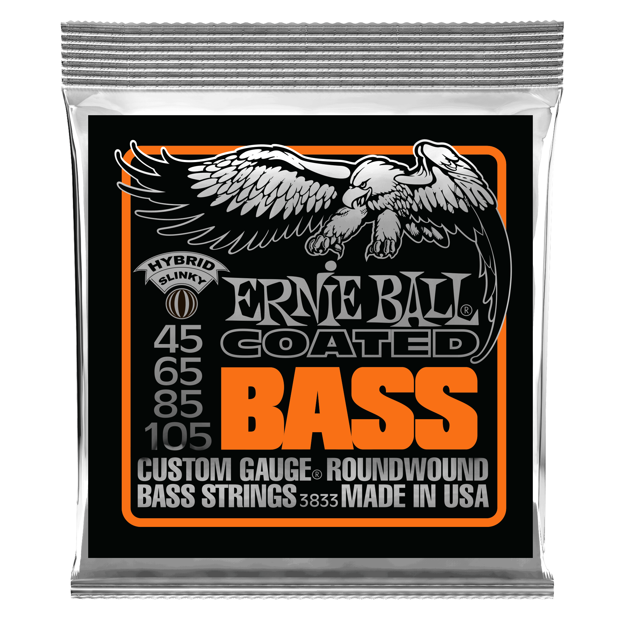 Ernie Ball Coated Bass Strings 45 - 105